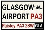 taxi to glasgow airport